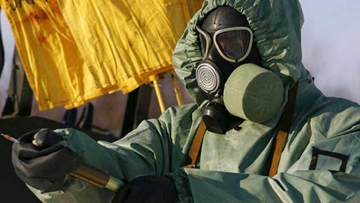 Возле брянской границы с Украиной военные химики провели спецоперацию
