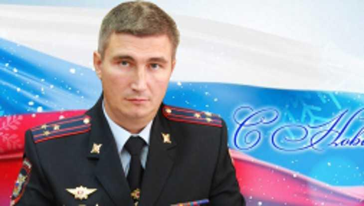 Начальник УМВД поздравил брянцев с Новым годом и Рождеством