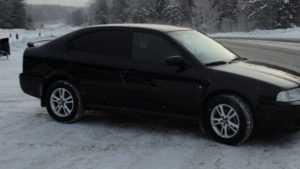 В Навле столкнулись автомобили «Хонда» и «Шкода»