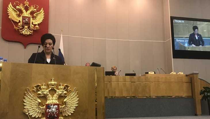 Брянский депутат Миронова поддержала усиление контроля за маткапиталом