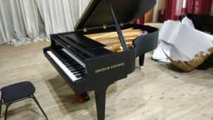 Брянский колледж искусств получил от Путина новый немецкий рояль