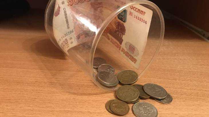 Брянцы принесли в банки монетами 772 тысячи рублей
