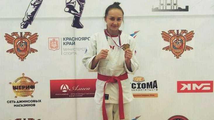 Рукопашница из брянского УФСИН Ольга Королёва стала чемпионкой России