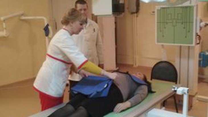 В Сельцовской городской больнице заработал новый рентгенаппарат