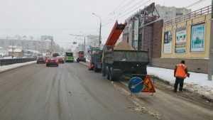 С улиц Брянска за сутки вывезли более 1000 тонн снега