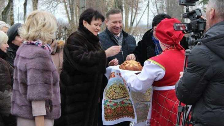 В Сеще Брянской области открыли отремонтированный Дом культуры