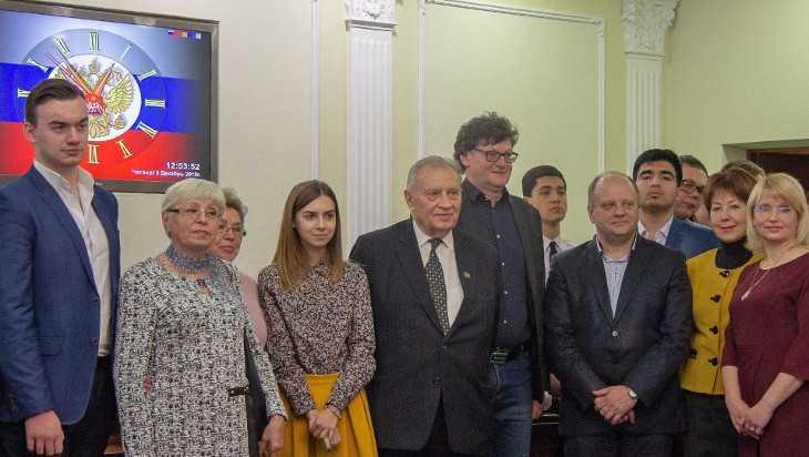 В Брянске сотрудники МИД России встретились со студентами БГУ
