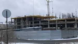В Брянске на набережной построили два этажа пятизвездочной гостиницы