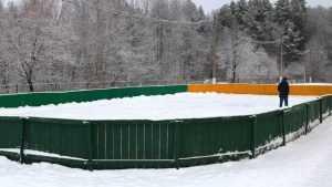 В Брянске откроют 4 катка и 23 хоккейных корта