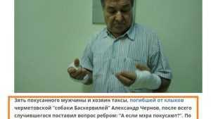 Брянского блогера Чернова обвинили в нежелании стать кормовой базой для псины