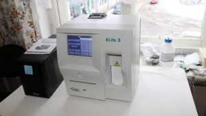 В Жуковской больнице появился автоматический анализатор крови