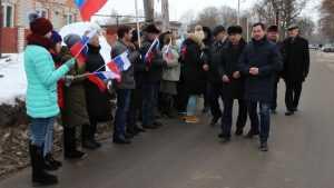 В Почепе открыли дорогу, отремонтированную за 11,3 млн рублей