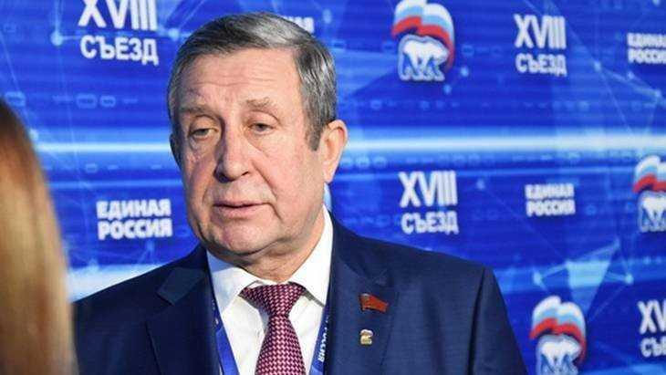 Владимир Попков подвел итоги первого дня работы XVIII съезда «Единой России»
