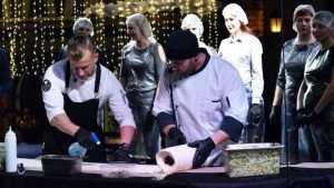 В Воронеже приготовили 10 метров вкусной шаурмы