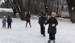 Брянские дети поделились первыми «ледовыми» впечатлениями