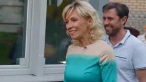 НТВ показал загородный дом представителя МИД Марии Захаровой