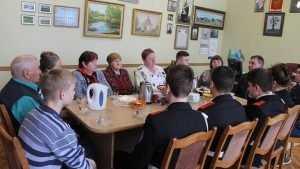 Власти Стародуба провели встречу с матерями погибших героев Отечества