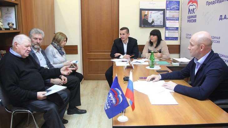 Заместитель брянского губернатора Александр Коробко провел прием