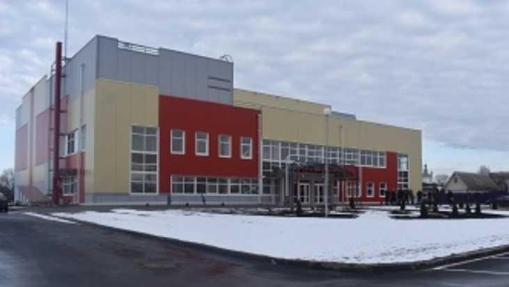 В Сураже в конце года откроют Физкультурно-оздоровительный комплекс