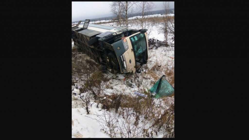 Брянский автобус разбился под Калугой
