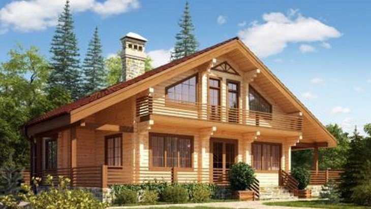 Дома из профилированного бруса как оптимальный вариант