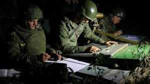 Брянские военные связисты провели тренировку