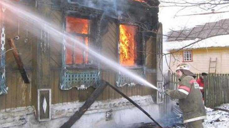 В стародубском селе в загоревшемся доме погиб 54-летний мужчина