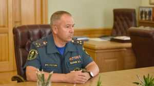 Начальник ГУ МЧС Брянской области Вадим Уваркин стал генералом