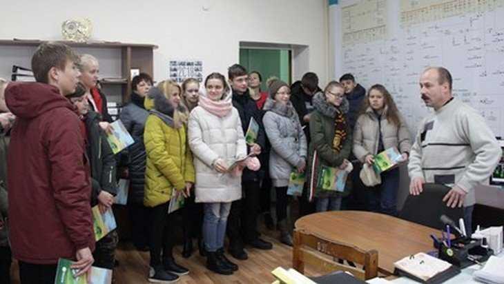 «Брянскэнерго» провел «День открытых дверей» для школьников Дубровского района