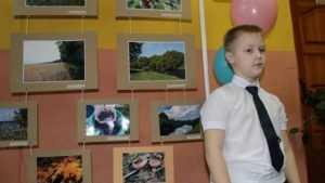 В Жуковке открылась фотовыставка юного мастера Миши Орлова
