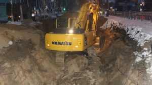 Московский проспект Брянска оказался пыткой для строителей ливнёвки