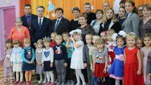 В Рогнедине после капремонта кровли открыли детский сад