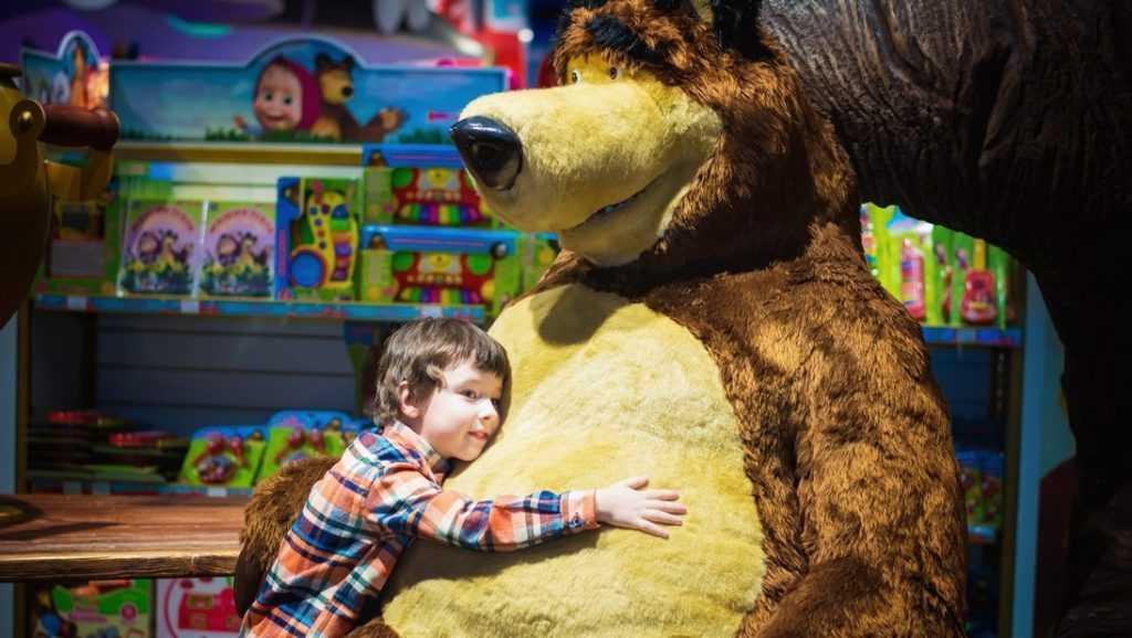 Праздник для детей в «Кидбурге» на Новый Год