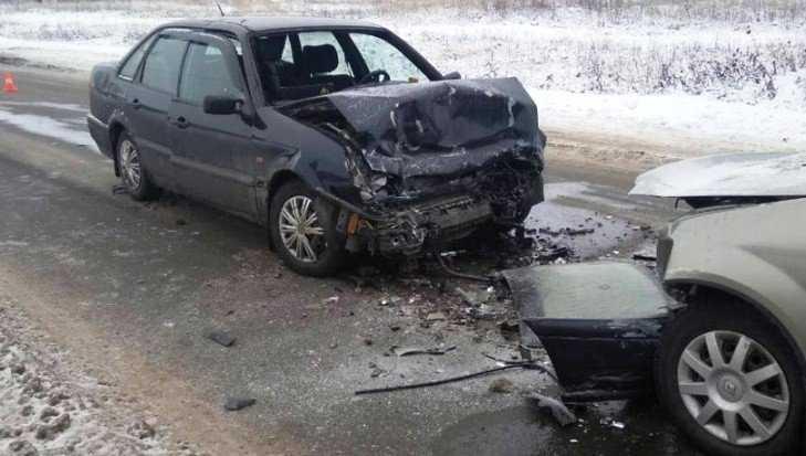 В Трубчевске при столкновении иномарок погиб 68-летний водитель