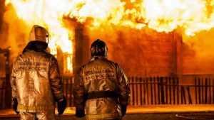 В Почепском районе при пожаре погибли молодая женщина и двое детей