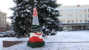 В Брянске появилось еще одно новогоднее украшение