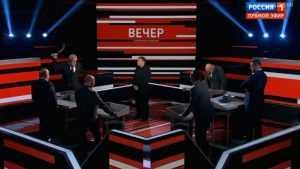 Видео скандала в эфире «России 1» с участием польского политолога появилось в сети