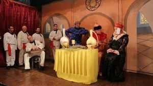 В брянской колонии поставили спектакль «Иван Васильевич меняет профессию»