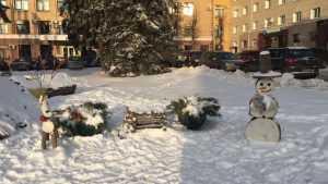 Новогоднюю арку желаний на площади Ленина разгромили брянские вандалы