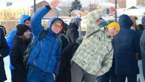 В Брянске по-спортивному отметили День студента