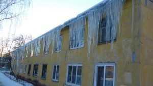 Жители Брянска решили превратить ледяное худо в добро