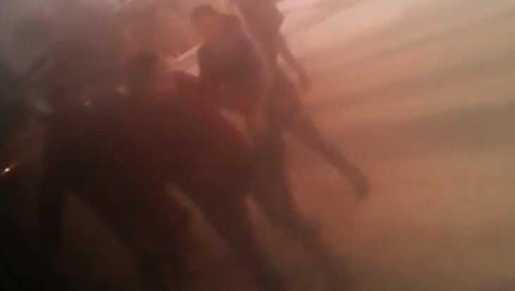 Видео дерзкой драки маршрутчика и пешеходов сняли в Брянске