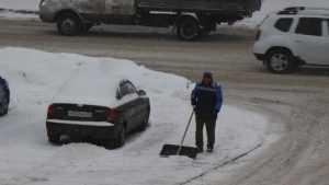 Снегопад обрушился на Брянскую область