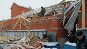 В Брянске при обрушении здания возле рынка никто не пострадал