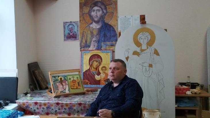 Брянский иконописец Александр Разин погиб при пожаре у родителей