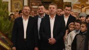 Губернатор Богомаз отпраздновал Рождество в Клинцах Брянской области