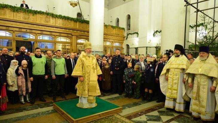 На Рождественских службах побывали 14 тысяч брянцев