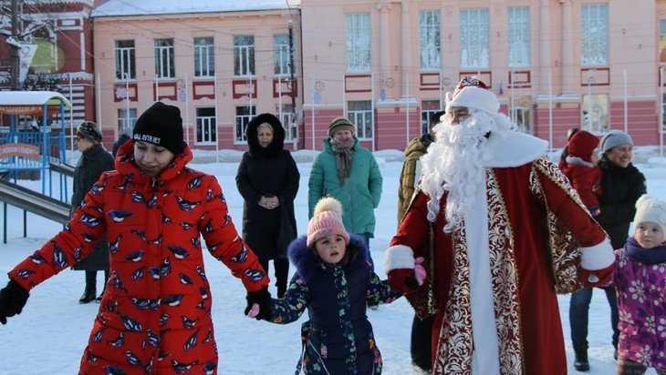 В Клинцах весело отметили Рождество