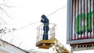 В Брянске за год снесли 275 рекламных щитов