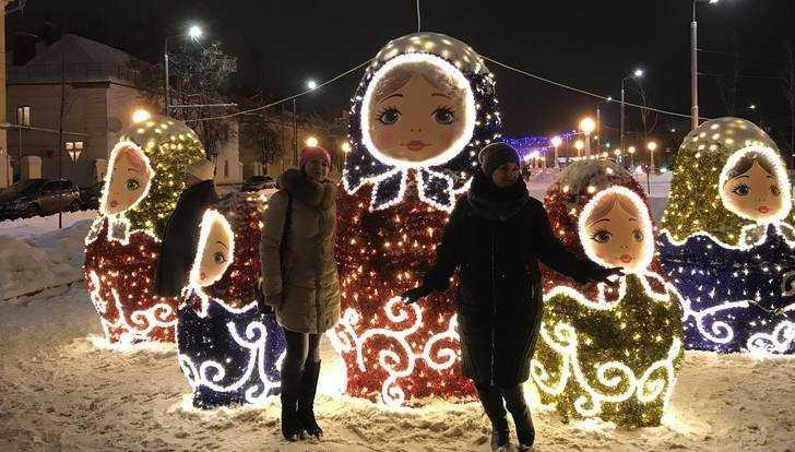 Жители Брянска 1 января снова заполонили новогодние улицы
